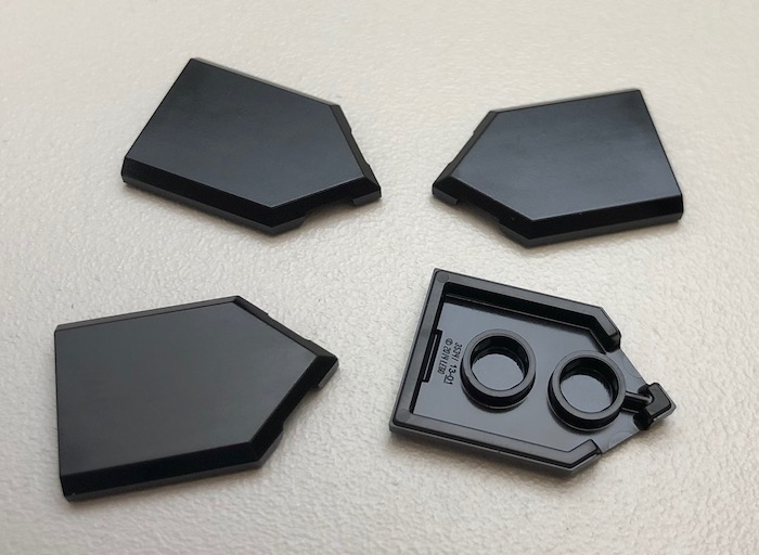 Platte 1x2 schwarz 8 Stück »NEU« # 3794 Lego Konverter Fliese